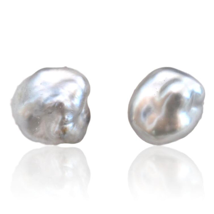 Tahitian Pearl Stud Earrings / #5