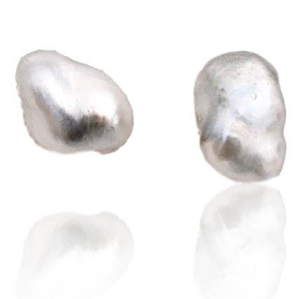 Tahitian Pearl Stud Earrings / #6