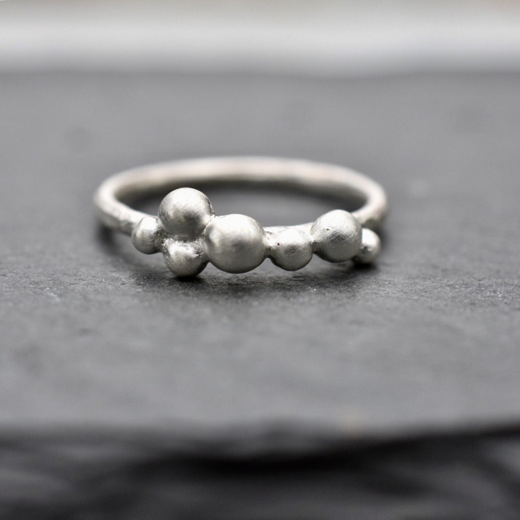 Salted Ring / Sterling Silver