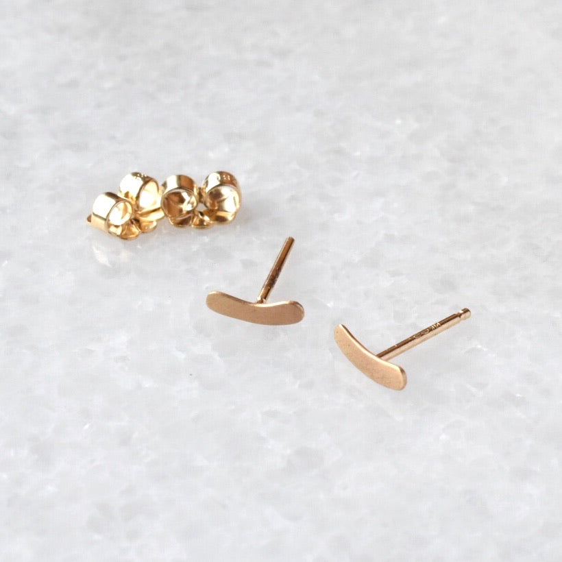 A Dash Of Gold Studs