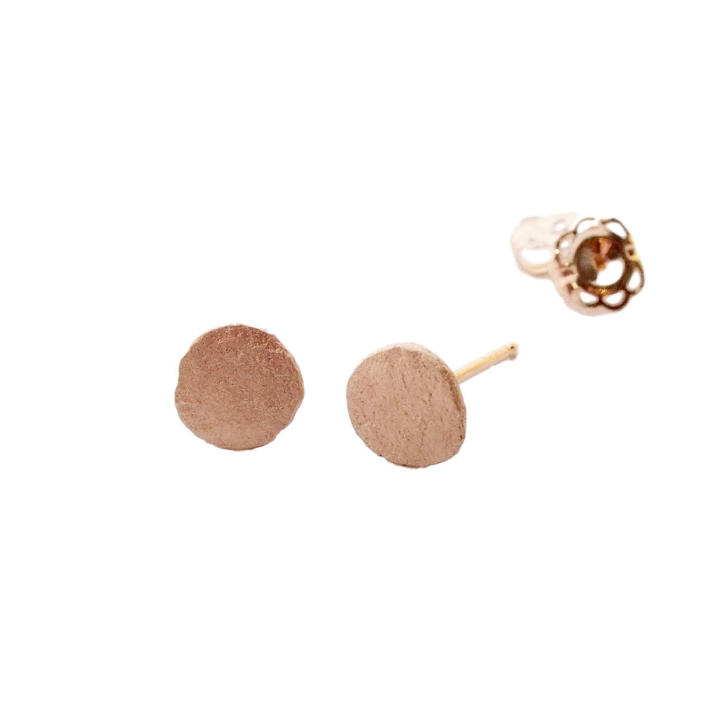 Pebble Studs / Gold