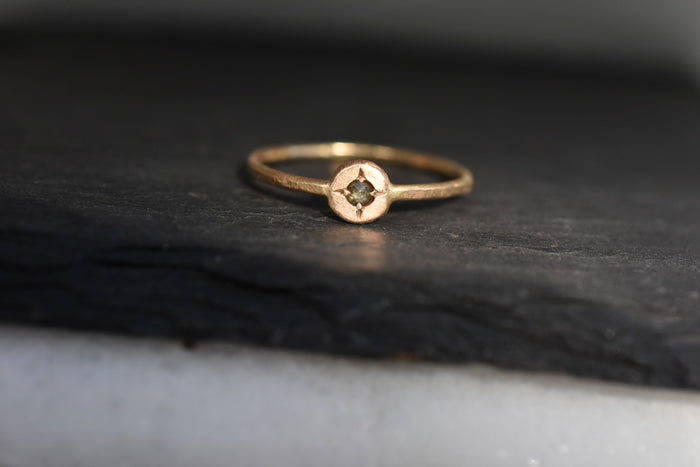Compass Ring / Gold