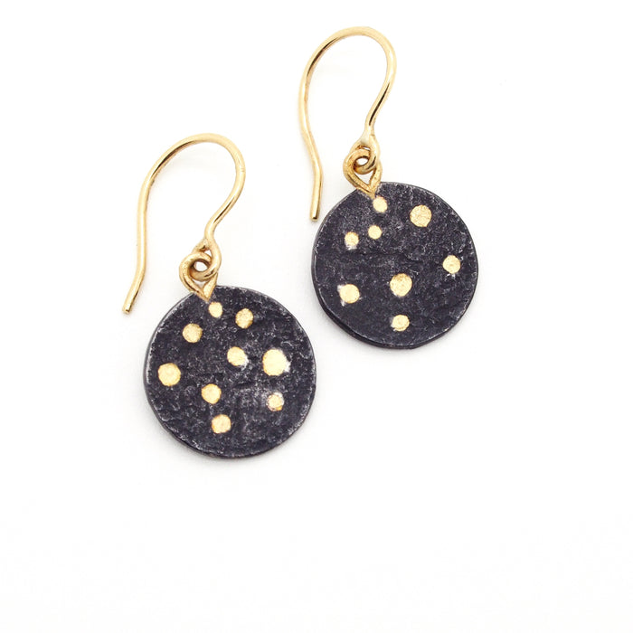 Stardust Circle Earrings