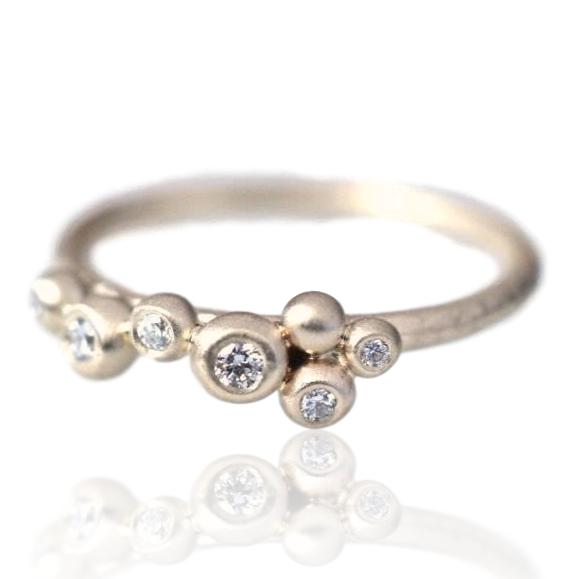 Salted Ring / Diamonds
