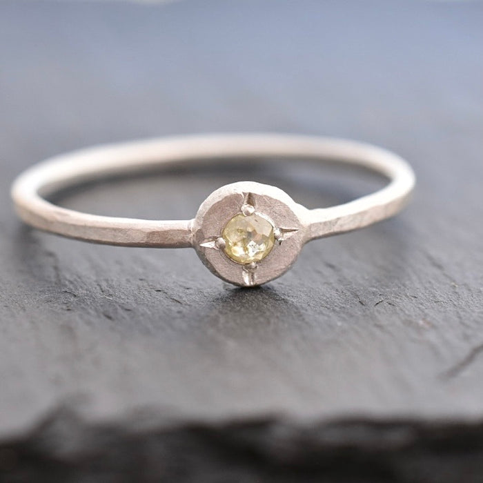 Compass Ring / Silver