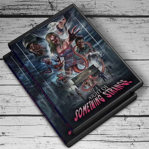 Limited Edition DVD - nightofsomethingstrange.com
