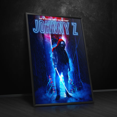 Johnny Z Limited Edition Poster - nightofsomethingstrange.com