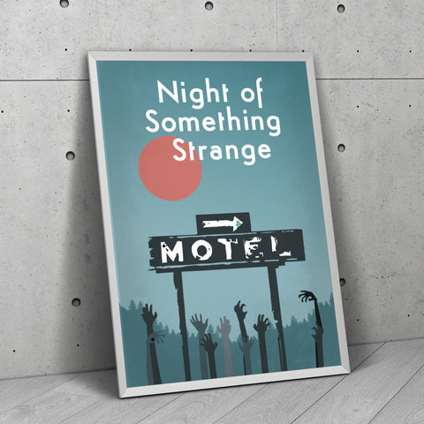 NoSS Minimalist Poster - nightofsomethingstrange.com