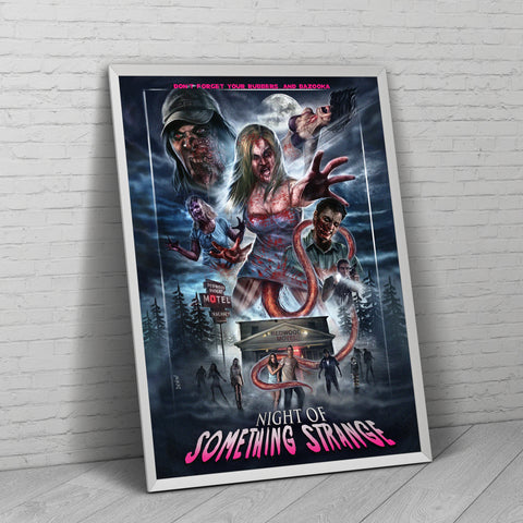 NoSS 80's Inspired Poster - nightofsomethingstrange.com
