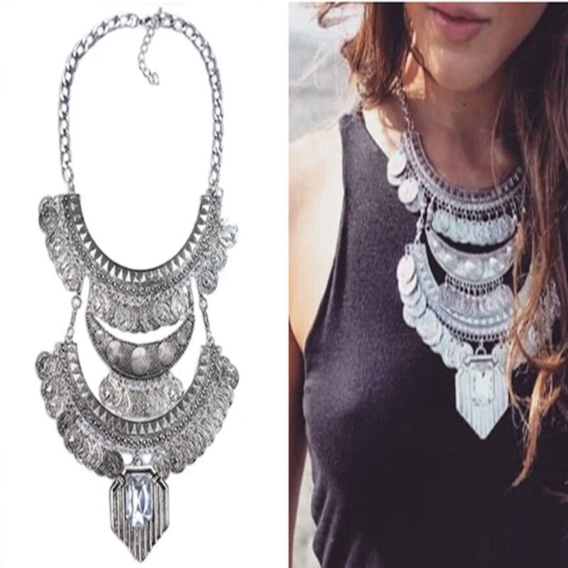 Freya Statement necklace