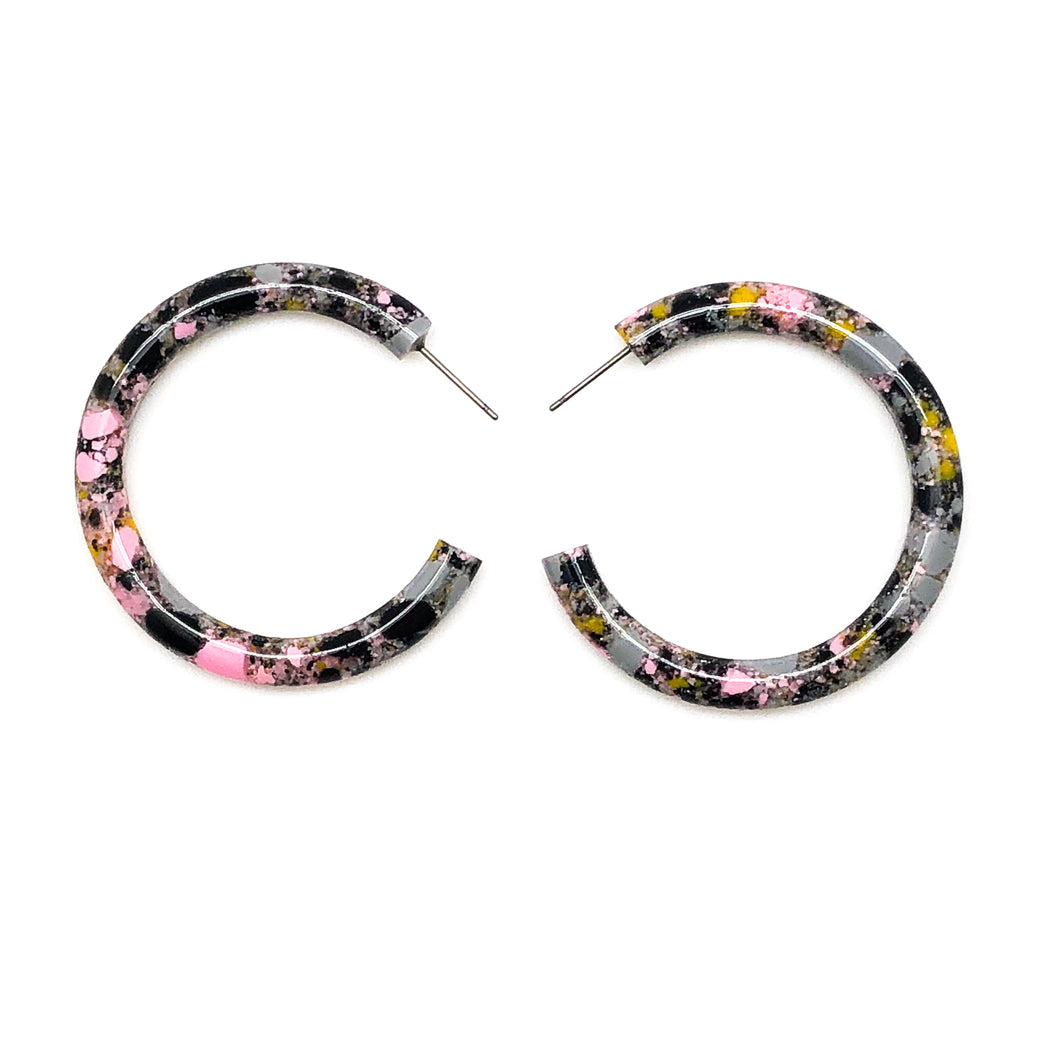 SPECKLED HOOPS