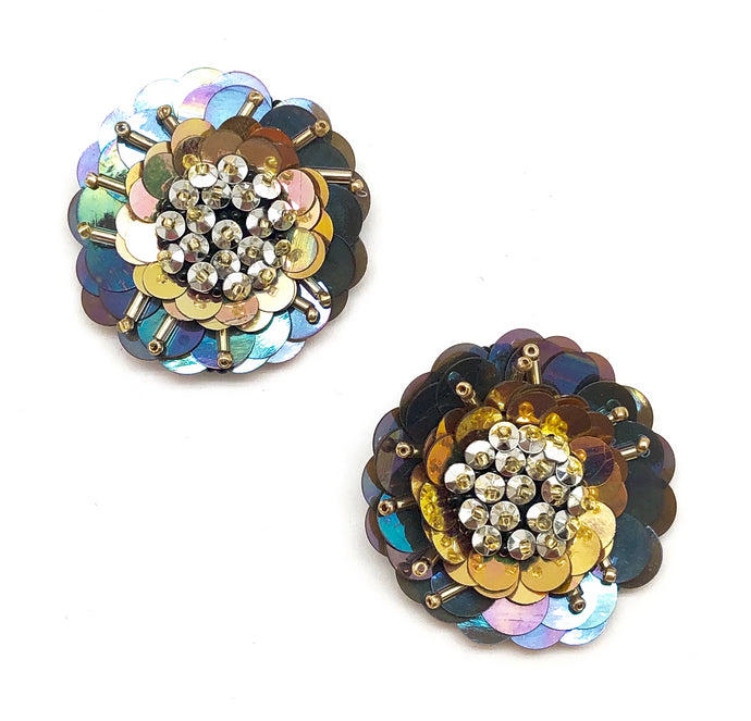 CHROMATIC FLOWER STUDS