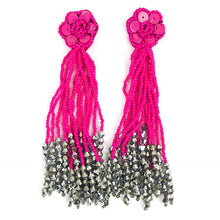 FLOWER TASSEL - ASSORTED COLORS