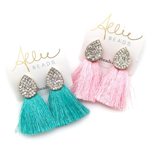 GLITZ TASSEL - ASSORTED COLORS