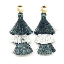 TRIPLE TASSELS - ASSORTED COLORS