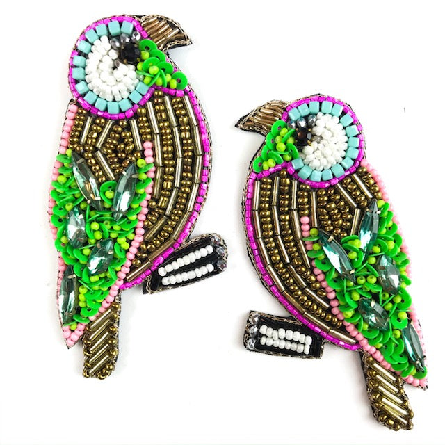 MULTI BEADED BIRD