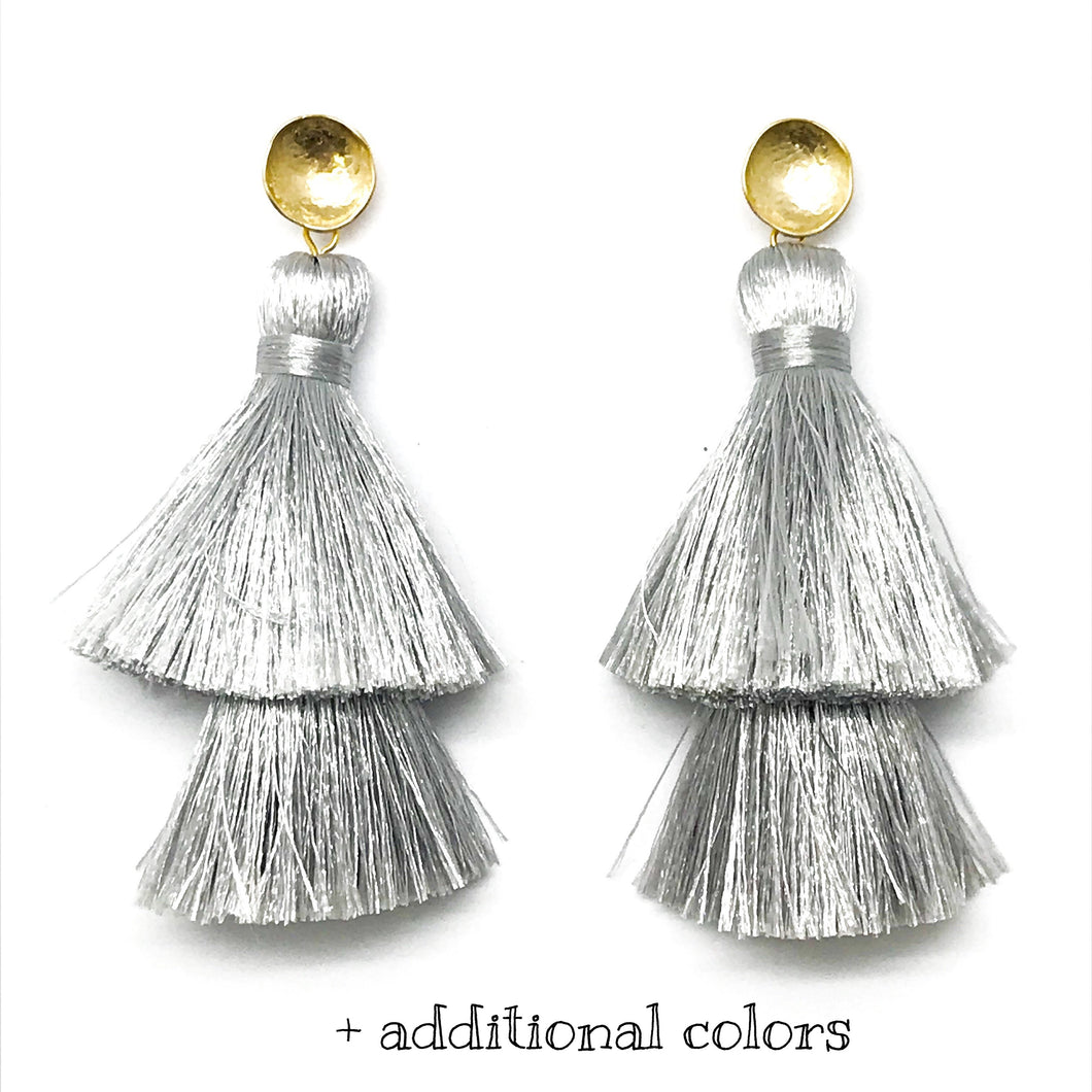 DOUBLE TASSELS - ASSORTED COLORS