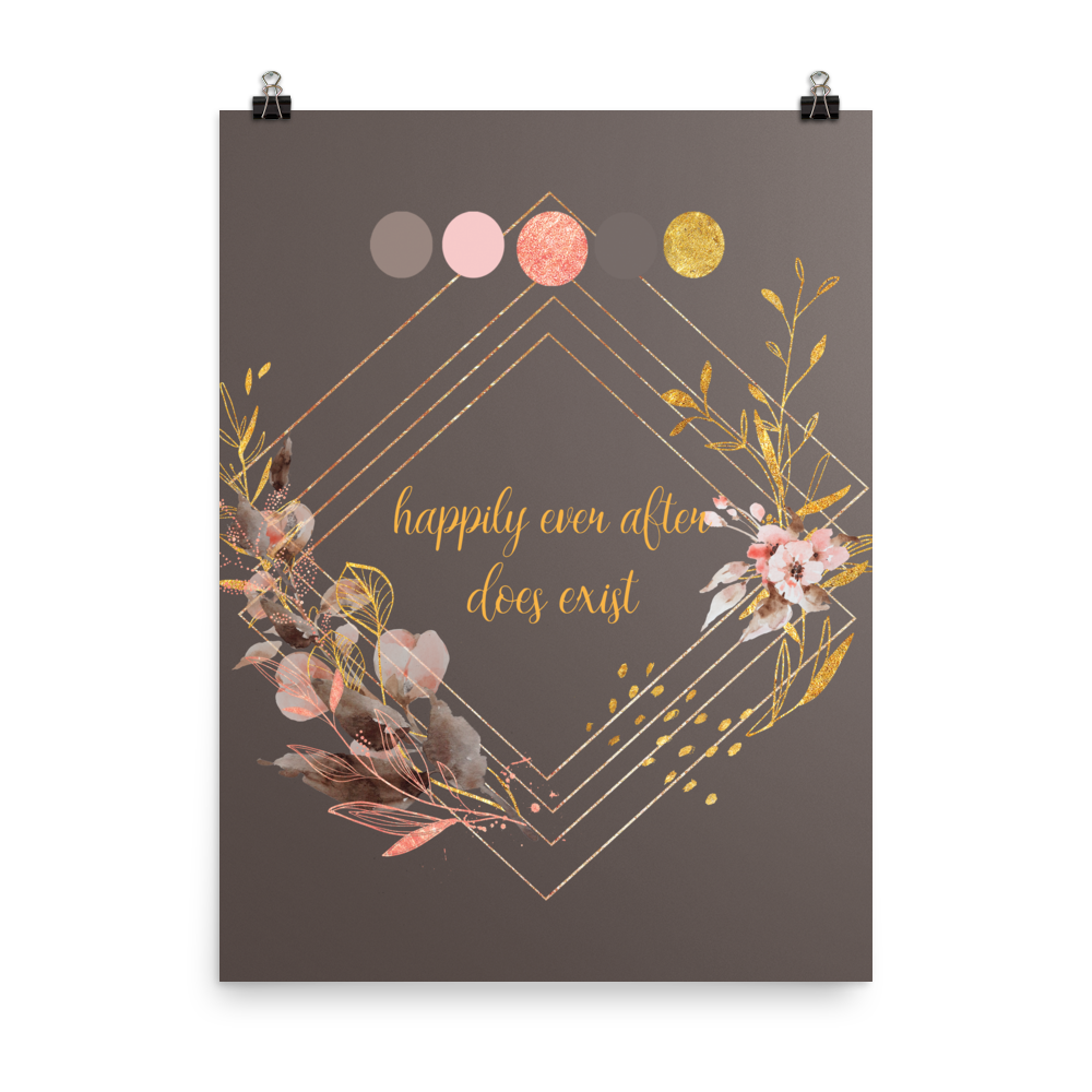 Unframed Happily Ever After Print