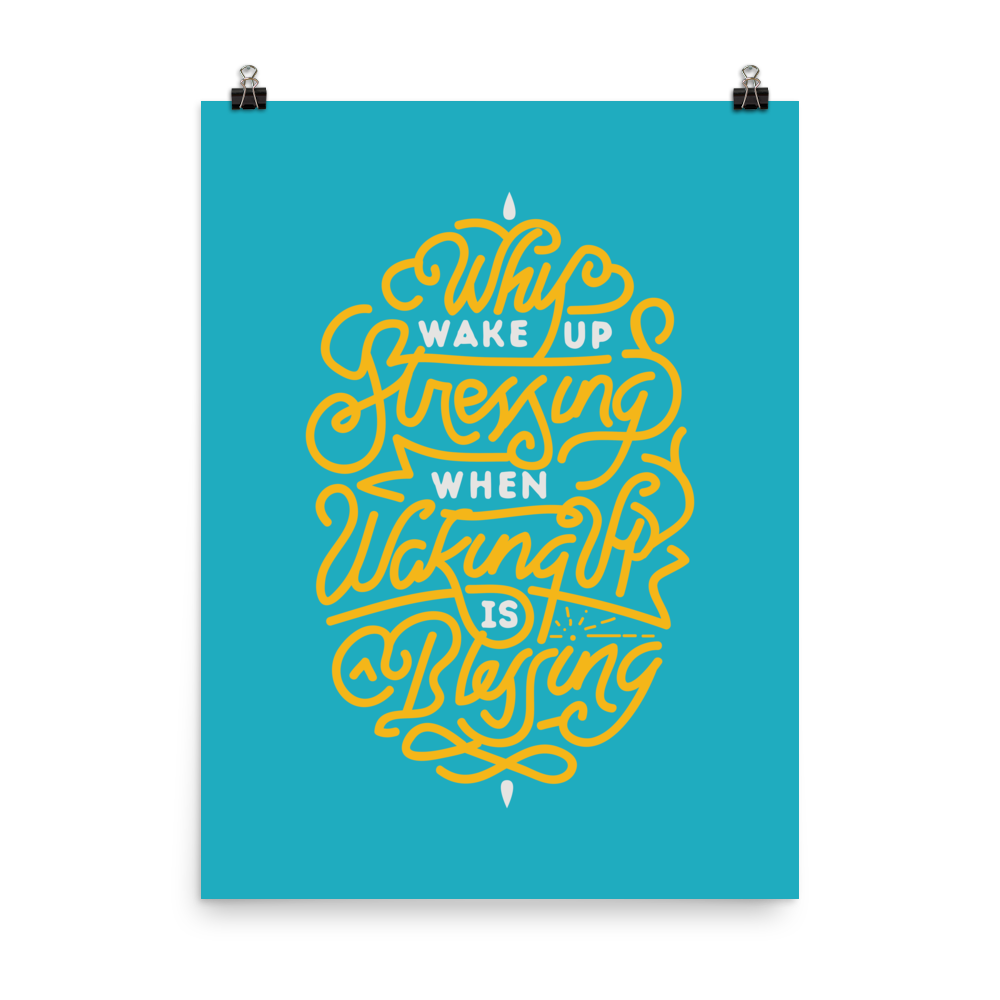 Unframed Blessing Print