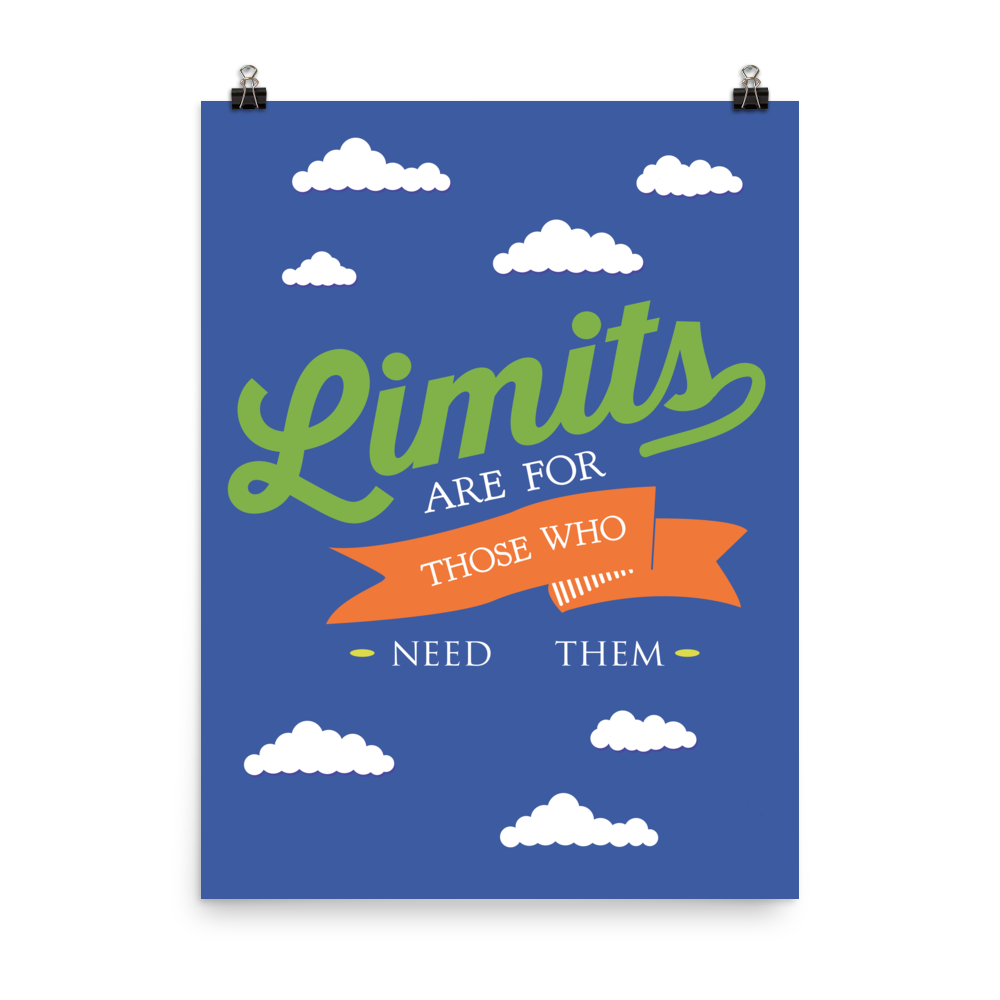 Unframed Limits Print