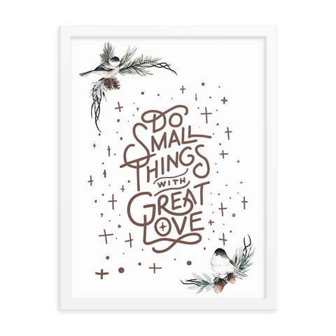 Small Things Print