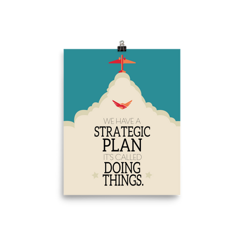 Unframed Strategic Plan Print