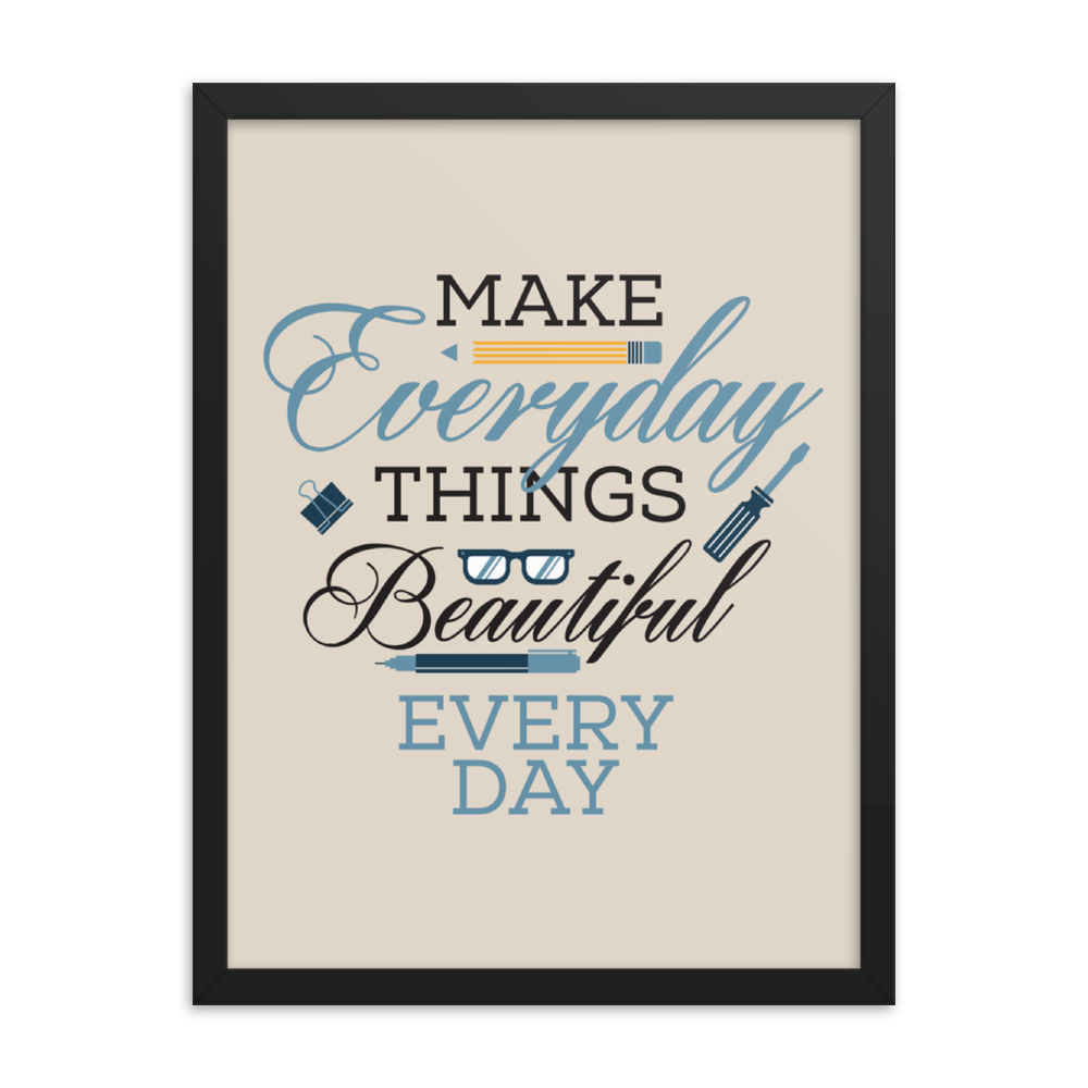 Make Everyday Print