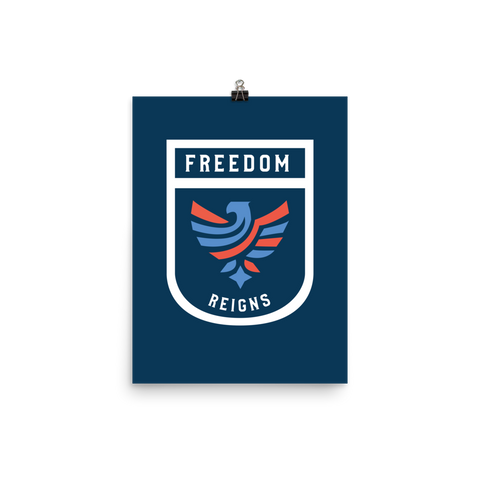 Unframed Freedom Print
