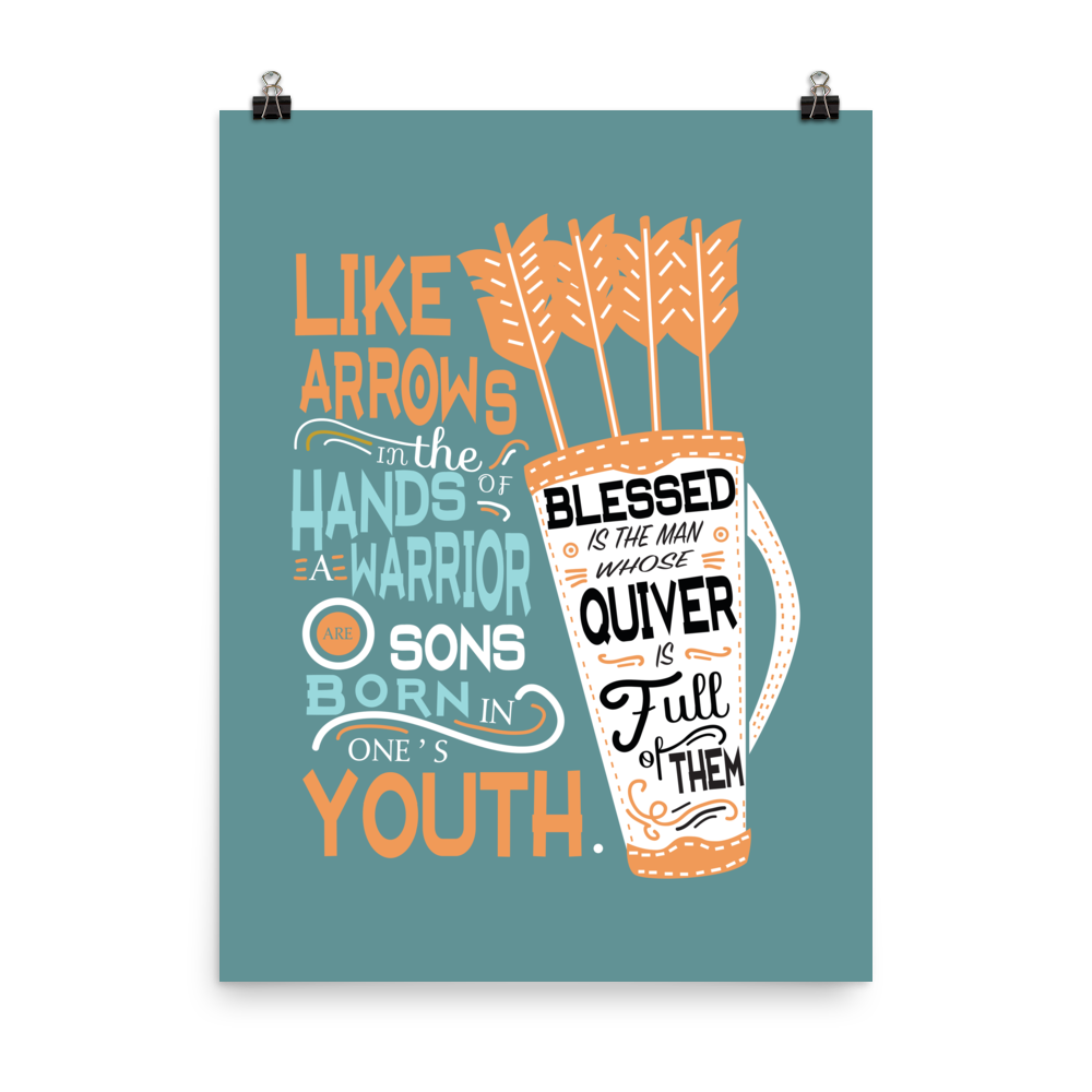 Unframed Like Arrows Print