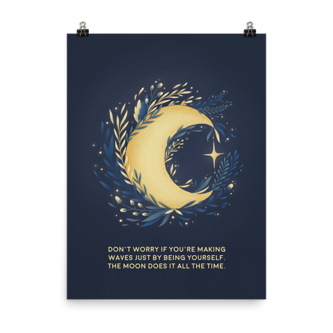Unframed The Moon Print