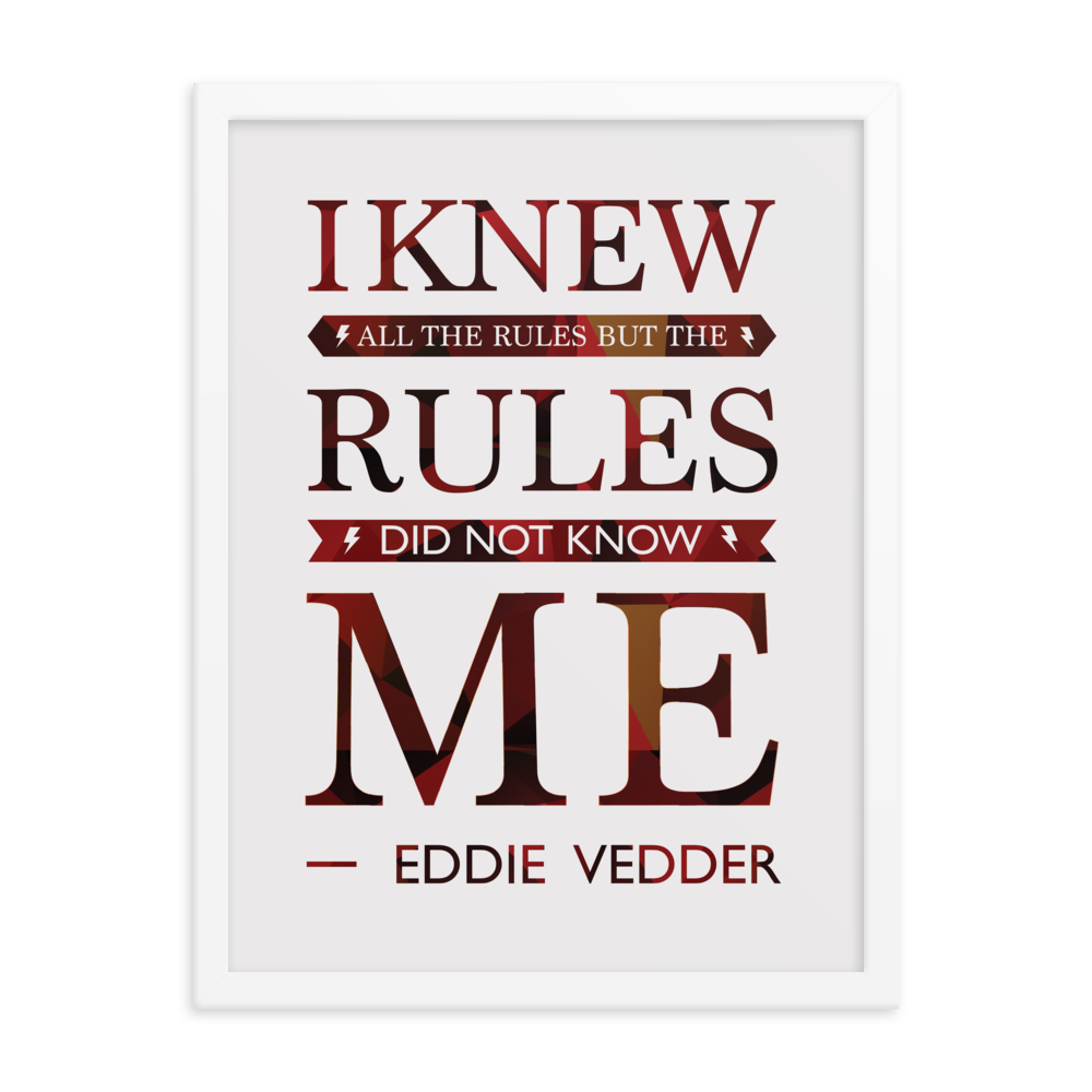 The Rules Print