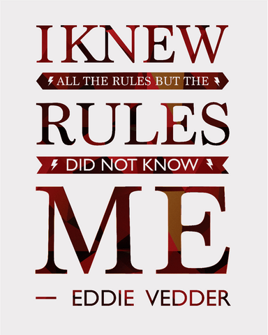 Downloadable The Rules Print