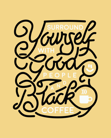 Downloadable Coffee Print