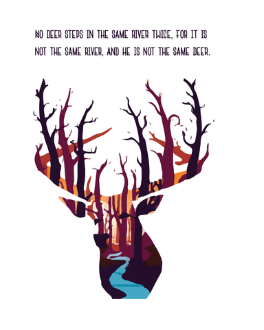 Downloadable Deer Print