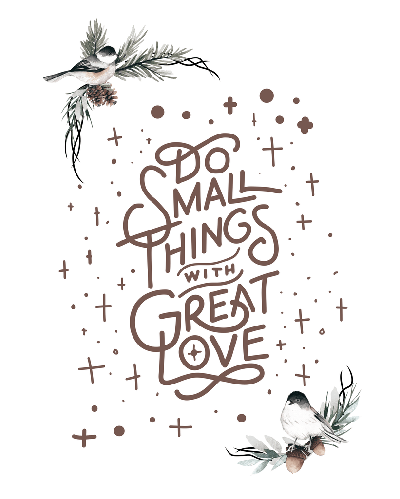 Downloadable Small Things Print
