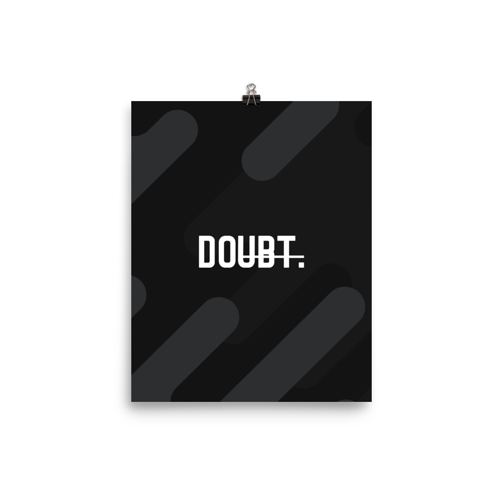 Unframed Doubt Print