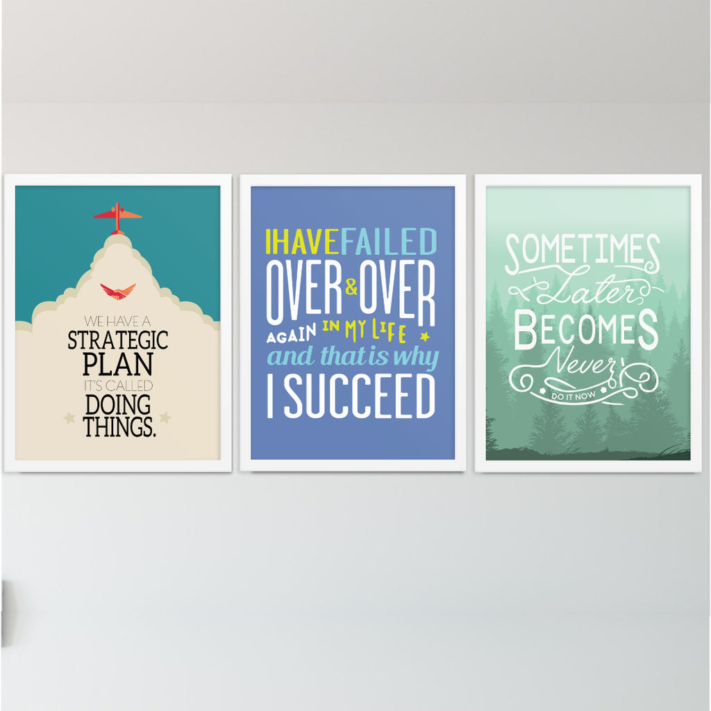The Never Give Up Print Bundle