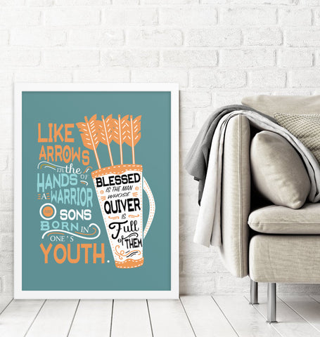 Downloadable Like Arrows Print