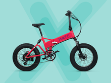 Mate E-Bike RED