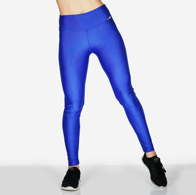Metalic blue Legging