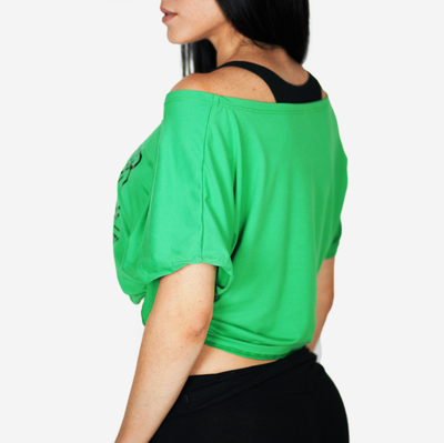 Copy of Find your power blouse - green