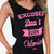 Excuses don't burn calories Tank - Black