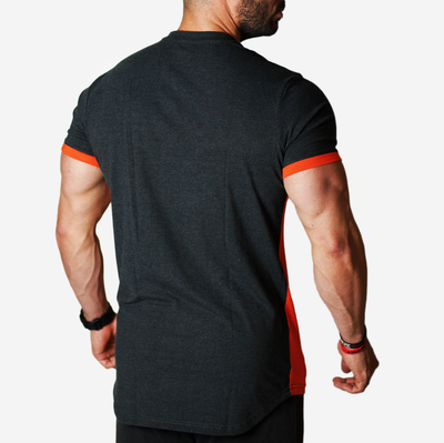 gymtopz t shirt orange