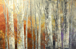 "TRUMPETS OF THE NORTH 36""x59"""