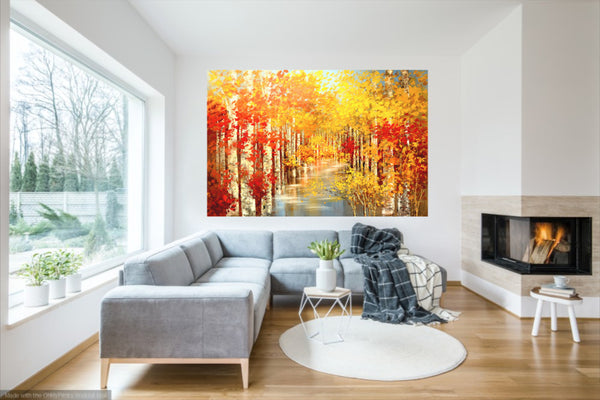 "GOLDEN MOMENTS 48""x72"""