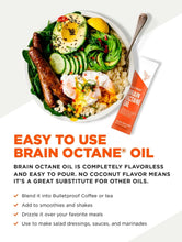 Brain Octane GoPacks - 15 sachets (1 tbsp each)