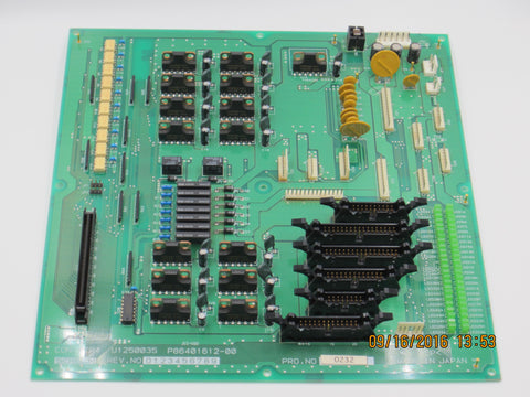 Screen PTR CTP Con PTR4 PCB Board
