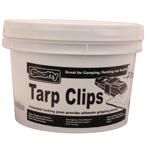 60 Tarp Clips - Black, Display Bucket - FlyRods.com. An online Fly Fishing Store with Style.