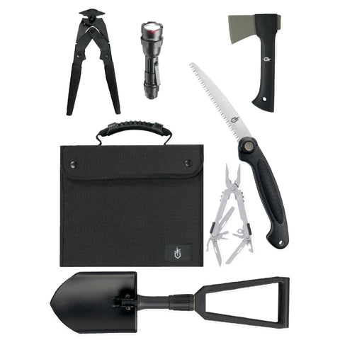 Offroad Survival Kit-SUV Kit Black Nylon Case - FlyRods.com. An online Fly Fishing Store with Style.