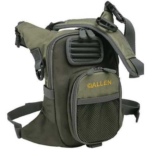Fall River Chest Pack Green with Gray Accents